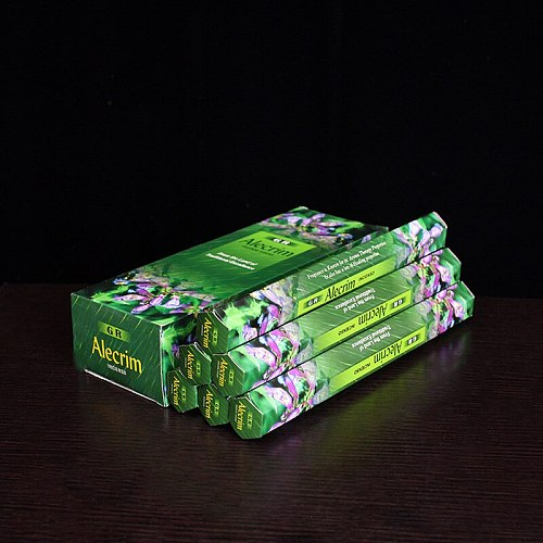 Alecrim Indian Incense Sticks Rosemary Stick Incense for Buddhist Supplies 2/6 Tubes Scents for Home Bulk Smoke Candle