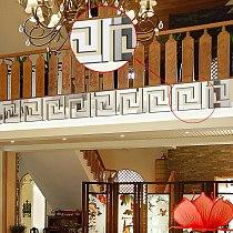Acrylic Wanzi Combination Mirror Splicing Mirror Sticker House Room Wall Decoration