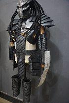halloween alien predator costume Bar Halloween party Costume Jagged Warrior Armor Cosplay