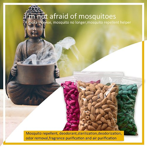 50PC Aromatherapy tablets Waterfall-Incense Holder Ceramic Incense Burner Home Decor Aromatherapy Ornament  2021 New Year Gift