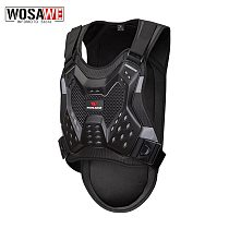 WOSAWE Motorcycle Armor chest back protector Motocross Body Armor guard Racing Body Protector protective Gear MOTO Adult  Jacket