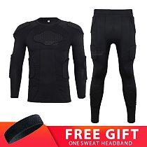 Motorcycle Armor Underwear Protector Motorcycle Jacket Men Base layer Pants Motocross Motorbike Moto Body Protective Gear Suit