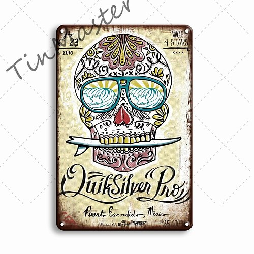 Personalized Beer Poster Metal Tin Signs Vintage Bar Pub Wall Sticker Decorative Plaque Retro Man Cave Home Decor Tin Plates