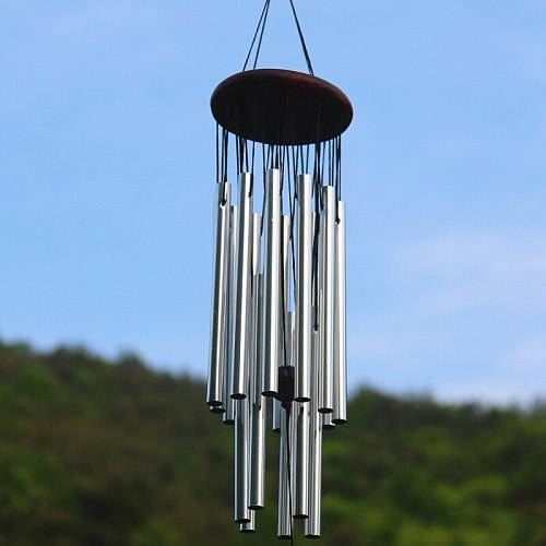 New Hot Wind Chimes Outdoor Large Deep Tone Hanging Ornament Garden Home Mobiles Windchime USJ99