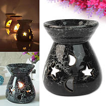 Fashion Oil Burners Candle Aromatherapy Furnace Ceramic Scent Lavender Fragrance Aromatherapy Diffuser Gift Home Decoration
