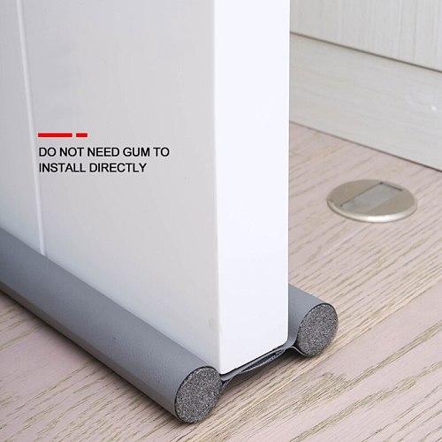 96cm Flexible Door Bottom Sealing Strip Guard Sealer Stopper Weatherstrip Wind Dust Blocker Protector