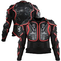 FAST SHIP! Motorcycle Jacket Men Full Body Motorcycle Armor Motocross Racing Moto Jacket Riding Motorbike Protection Size S-3XL