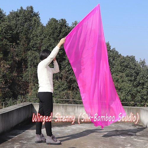1 piece 2.2m*0.9m(88 *34 ) 5mm silk pink worship flag/banner, Acrylic rod