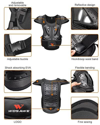 Body Protective Gear Motocross Armor Shockproof Snowboard Motorcycle Moto Riding Jacket Protector Top Protection Windbreaker