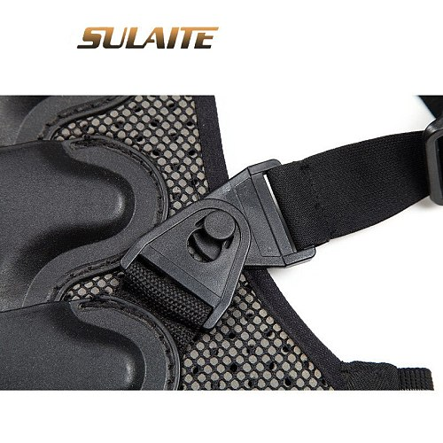 SULAITE Motorcycle Jacket Armor Vest Moto Jacket Protection Gear Motocross Armor Racing Vest Motorcycle Protector Equipment