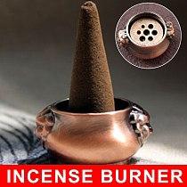 Incense Holder Plate Stick Cones Home Garden Decoration Vintage Mini Incense Burners Holes Incense Holder Quemadores De Incienso
