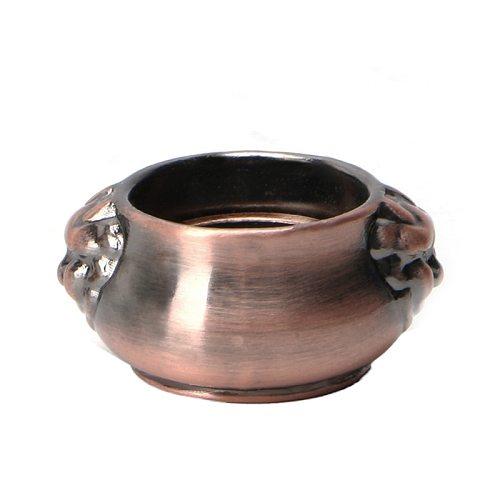 Copper Mini Lion Ear Incense Coil Burner Censer Aromatherapy Pot Vintage Incensory Metal Craft Home Decor