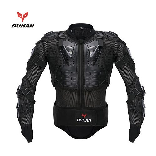 DUHAN Genuine Racing Full Body Armor Spine Chest Protection Jacket ATV Motocross Motorcycle Riding Body Protective Gear Guards