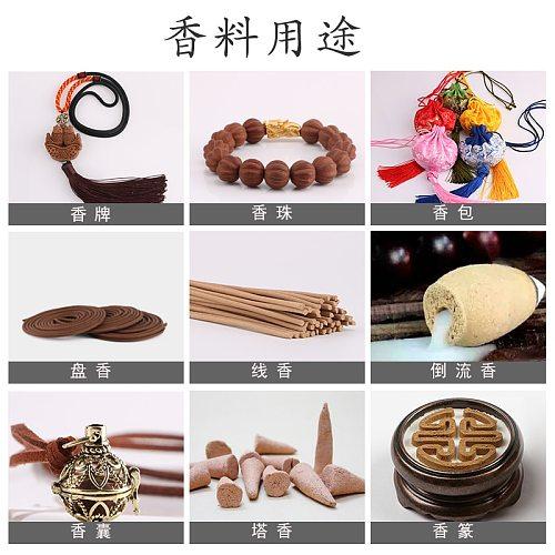 Free shipping 100% Natural Rose/Lavender/Jasmine/Tulip/Peony powder for incense/encens /incienso /Aroma burner compilation