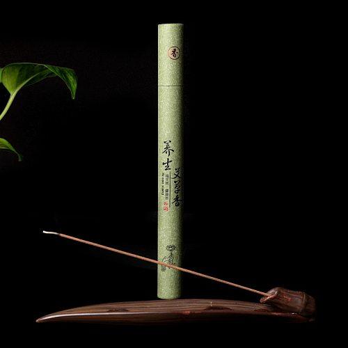 21cm Natural Sandalwood Summer Essential Home Living Room Bedroom Meditation Temple Ceremony Buddha Incense Supplies Home Decor