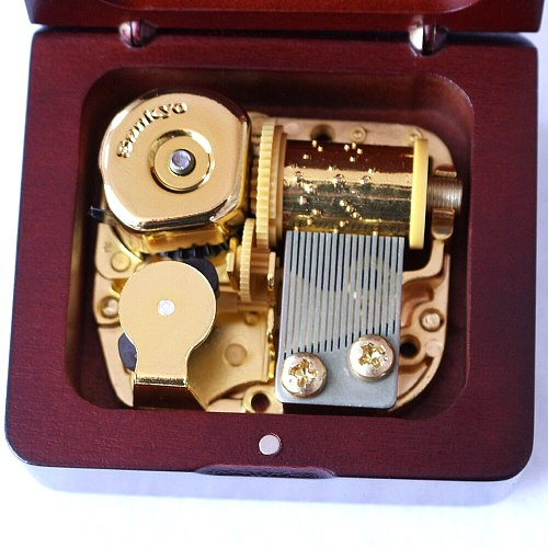 ROSIKING wooden Elfen Lied music box creative birthday gift for girls boys love sankyo Valentine's Day New Year Gifts for women