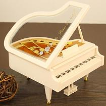 Creative Mini Piano Model Music Box Metal Antique Musical Boxes Birthday Wedding Gift Home Decoration new year gifts
