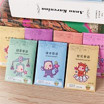 Creative 12 Constellations 12 Scents Aromatherapy Natural Smell Incense Wardrobe Sachet Air Fresh Scent Bag Paper Sachet Rose