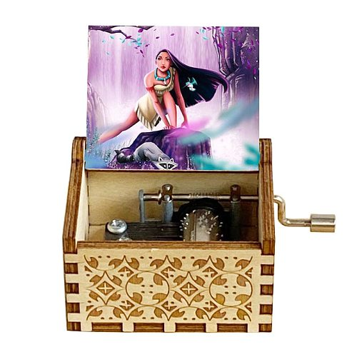 Wooden Music Box Color Music Box Holiday Gift Birthday Gift Wooden Small Box Daughter Son Christmas Gift