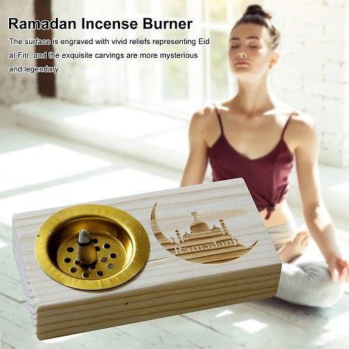Ramadan Festival Decoration Middle East Arab Simple Modern Wooden Incense Burner European Natural Pastoral Style Incense Burner