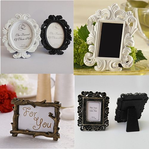 Wedding Photo Frame Retro Photo Frame for Wedding Party Family Home Decor Picture Desktop Frame Photo Frame Gift for Friend