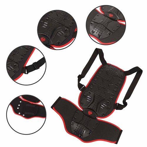 Motorcycle Detachable Armor Vest Cycling Protection Ski Body Armor Vest Protective Body Spine Armor Vests 2020