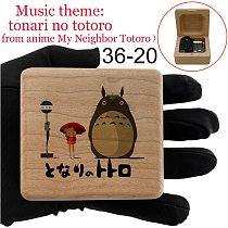 tonari no totoro music wind up music box kids toy girlfriend wife birthday Christmas students gift