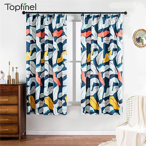 Curtains For Living Room Window Modern Printing Style Proof Curtains Home Decoration Custom Made For Bathroom Bedroom