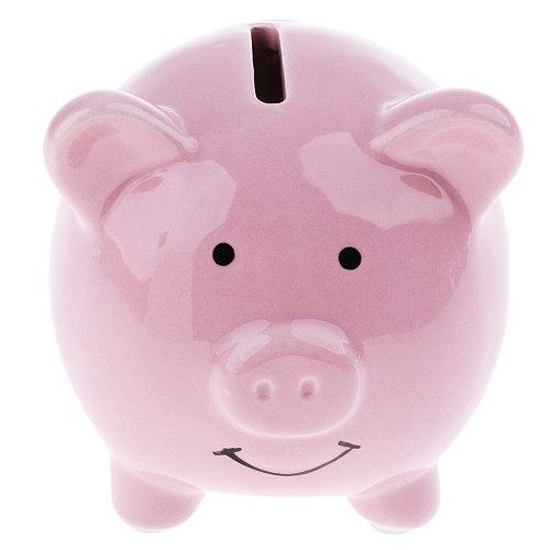 Cute Ceramic Piggy Bank Saving Cash Coin Money Box Children Toy Kids Gifts