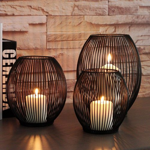 Romantic creative decoration wind lamp horse lantern wedding props decoration