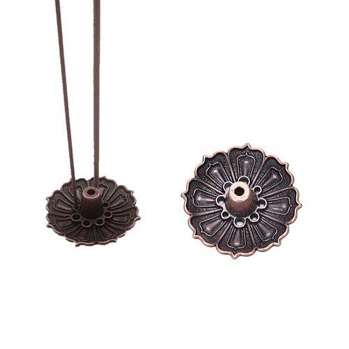 1 pc Lotus Flowers Pattern Incense Burner Stick Holder Incense Base Plug Home Decoration