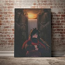 Modular Canvas Madara Uchiha Canvas Anime Painting Home Decor Pictures Modern Printed Poster For Living Room Wall Art No Frame