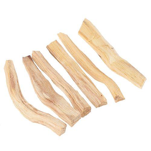 1pc Palo Santo Natural Incense Sticks Wooden Smudging Stick Aromatherapy Burn Wooden Sticks No Fragrance