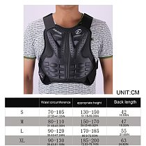 Adult Dirt Bike Body Armor Protective Gear Chest Back Protector Protection Vest