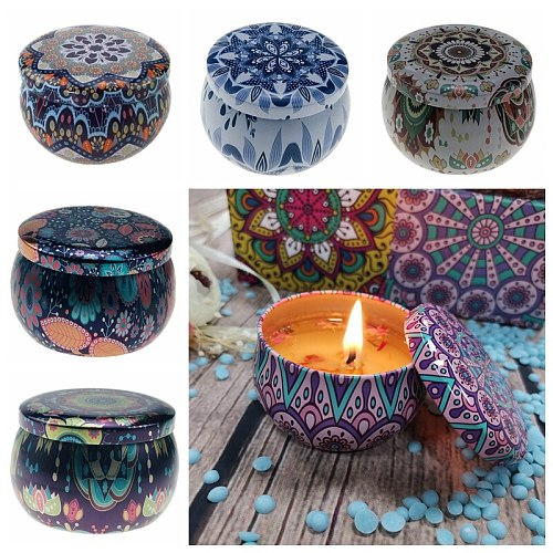 1PC Candle Tin Jars DIY Candle Making kit Holder Storage case for Dry Storage Spices