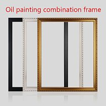 DIY Canvas Picture Frame Photo Frame Square Diamond Painting Frame Wall Art Poster Hanger Home Decoration Gift