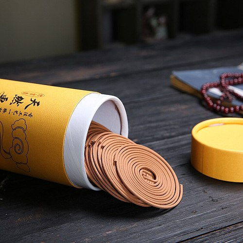 120p Sandalwood Incense Coil Aromatherapy diffuser Spices Fragrance Deodorant Natural Summer Essential Yoga Anti mosquito Relax