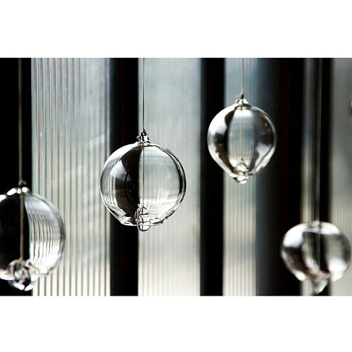 Japanese Wind Chimes Romantic Small Wind Bells Glass Japanese Style Pendant Home Indoor Outdoor Bedroom Garden Decor