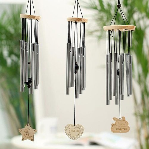 Antique Resonant 8 Tubes Wind Chime Bells Hanging Living Bed Home Decor Gift Car Outdoor Yard Garden Deco Wind Chimes