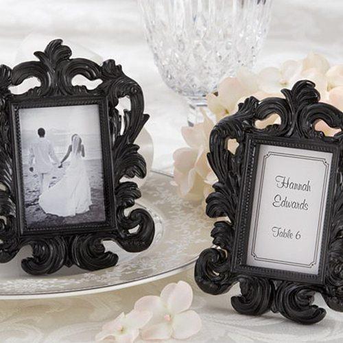 Decorative Flower Retro Photo Frame Wedding Home Decor Desktop Picture Frame Classic Baroque small photo frame