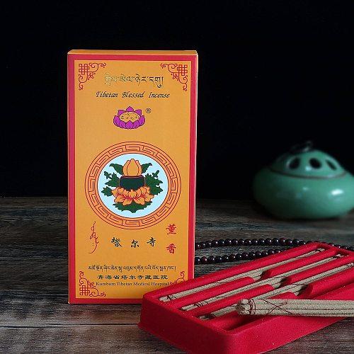 Kumbum Monastery Incense,Buddhist Holy Land Natural Herbal Meditation Incense,Hand Made Tibetan Aroma Sticks