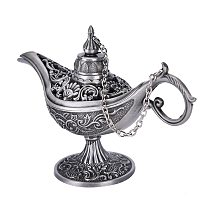 1PCS Antique Style Retro vintage and gothic Gift Tin Alloy Incense Burner For Children Home Decoration