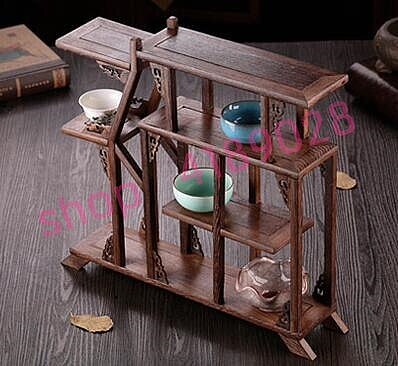 Solid wood chicken wing wood,  happy lot again and again, curio shelves, ornament pendulum rack.