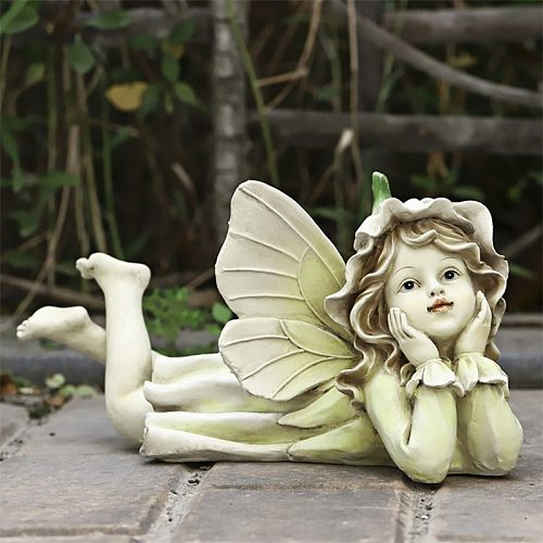Fairy Garden - Miniature Fairies Figurines Accessories for Outdoor Garden Decor