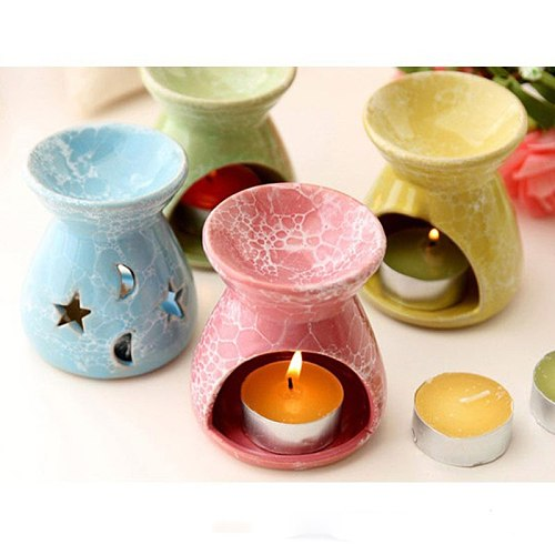 Candle Aromatherapy Furnace Aromatherapy Lamp Essential Oil Furnace Household Romantic Burner Home  Decor