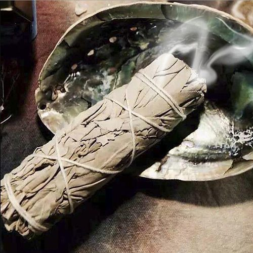 White Sage Bundle Smudges Stick Pure Leaf Wands For Home Cleansing Negativity Removal Smoky Purification Healing Meditation