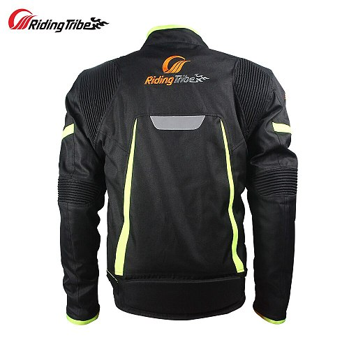 Riding Tribe Motorcycle Summer Wind&Waterproof Mesh Breathable Motocross Off-Road Racing Armor Protective Gears Jacket Pants