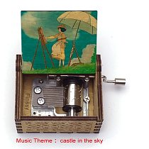 Anime The Wind Rises love music box to send partner small gift diy birthday gift