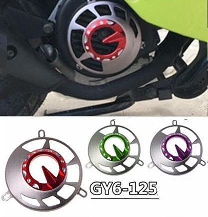 Motorcycle accessories modified fan cover for GY6-125 wind fan cover