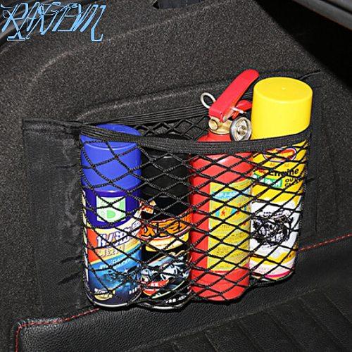 Car Trunk Nylon Rope Net/luggage net with backing For Alfa Romeo 147 156 159 Alfetta Berlina Brera Mito Giulia Milano